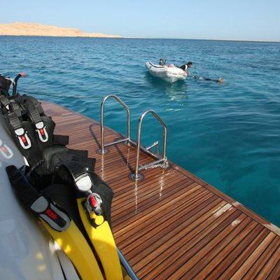 Seven Spices Yacht Swim Deck
