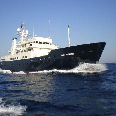 Bleu De Nimes Yacht Running Shot