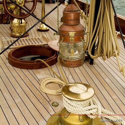 Lulworth Yacht Detail - Deck