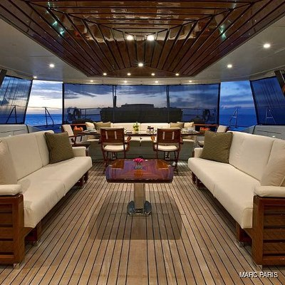 Prana Yacht Cockpit