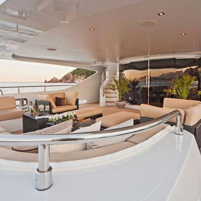 Seven S Yacht Aft Deck