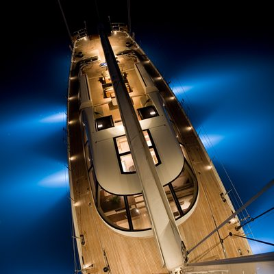 Palmira Yacht From top of mast