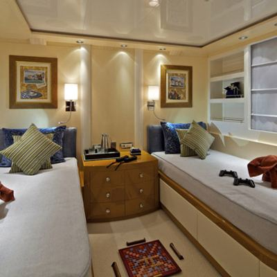 Mia Rama Yacht Third Twin Stateroom