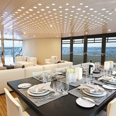 Ocean Sapphire Main Deck Dining