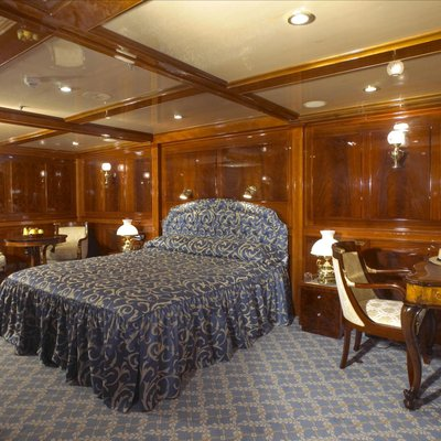 SS Delphine Yacht Guest Stateroom 2