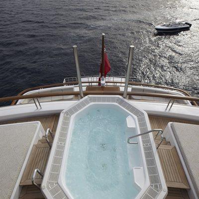 Pegasus VIII Yacht Pool