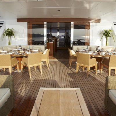 Lady Britt Yacht Exterior Seating