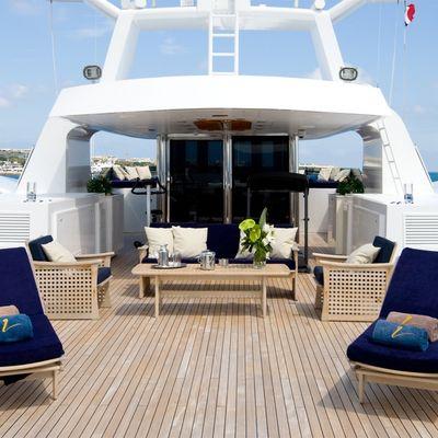 Lou Spirit Yacht Sundeck Loungers