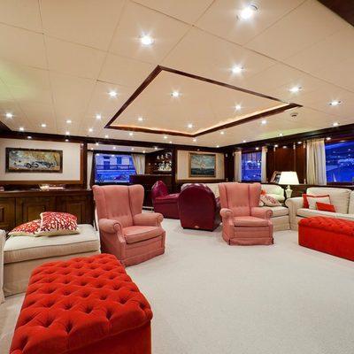 Sophie Blue Yacht Main Salon - Seating