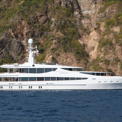 Sunrise Yacht Profile at Anchor