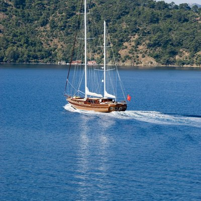 Take It Easier Yacht Running