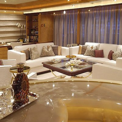 Sea Walk Yacht Upper Salon