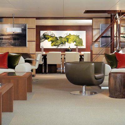 Il Cigno Yacht Main Salon