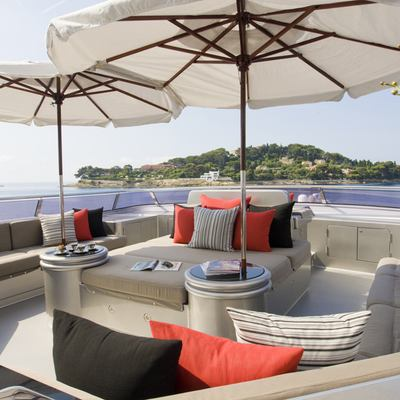 Silver Dream Yacht Sundeck