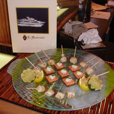 Le Montrachet Yacht Cuisine