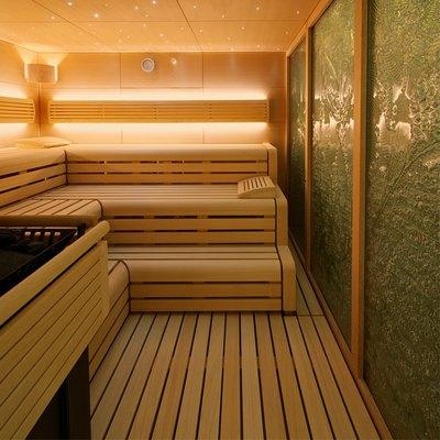 Solandge Yacht Sauna Detail