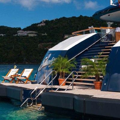 Solandge Yacht Swim Platform