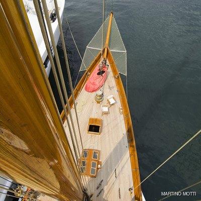 Lulworth Yacht Overhead