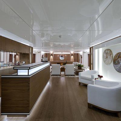 Liquid Sky Yacht Main Salon