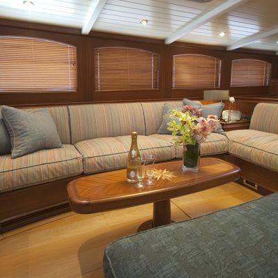 Athos Yacht Cockpit Salon