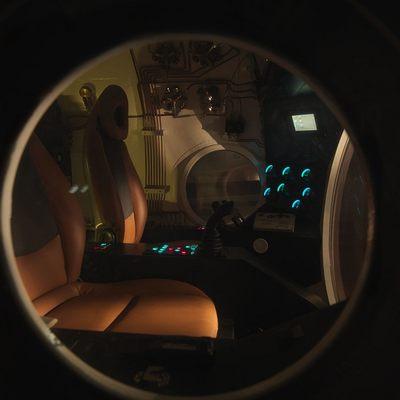Naia Yacht Submarine - View Inside