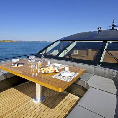 O'Pati Yacht Sundeck - Dining
