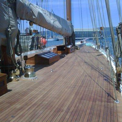 Elena Yacht Deck & Rigging