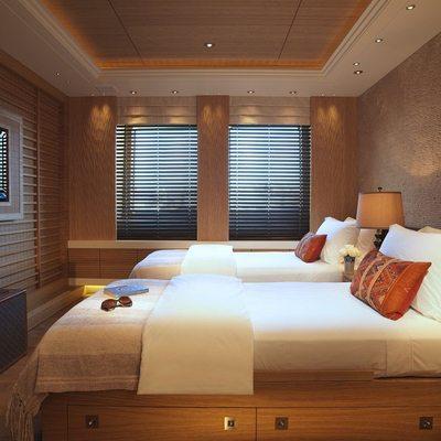 Naia Yacht Twin Stateroom
