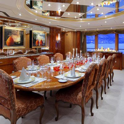 Capri I Yacht Dining - Table Set