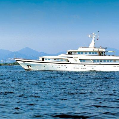 Il Cigno Yacht Side View