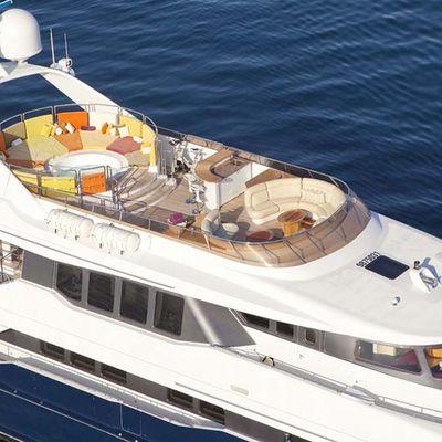 Daloli Yacht Aerial View - Sundeck