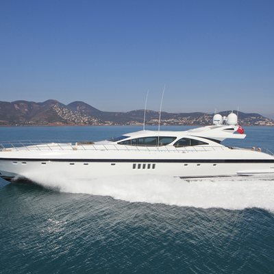 Veni Vidi Vici Yacht Running Shot - Side View