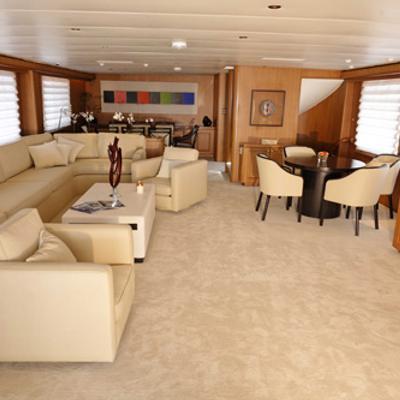 Silent World II Yacht Main Saloon