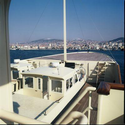 Bleu De Nimes Yacht Top Deck