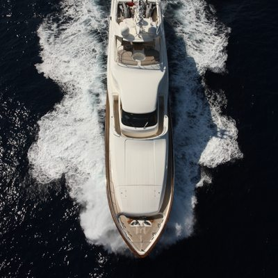 Libertas Yacht Running Shot - Overhead