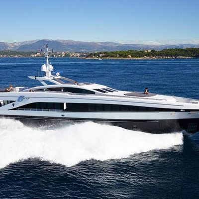 G Force Yacht Side View
