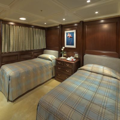 Teleost Yacht Twin Stateroom
