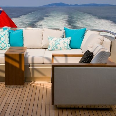 Odessa Yacht Seating - Detail