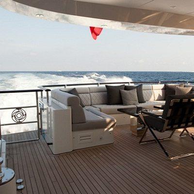 Aurelia Yacht Aft Deck Seating