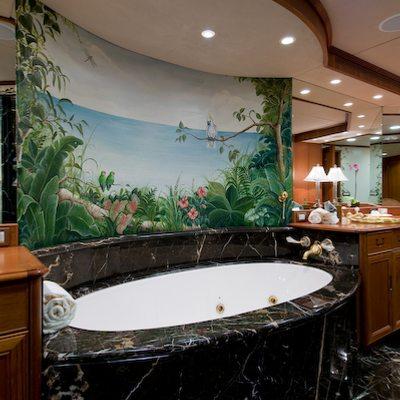 Sea Falcon II Yacht Master Bathroom