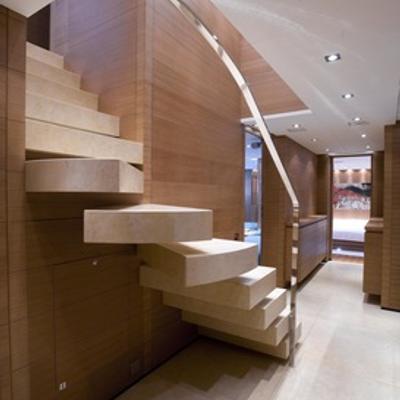 Seakid Yacht Stairs & Hallway
