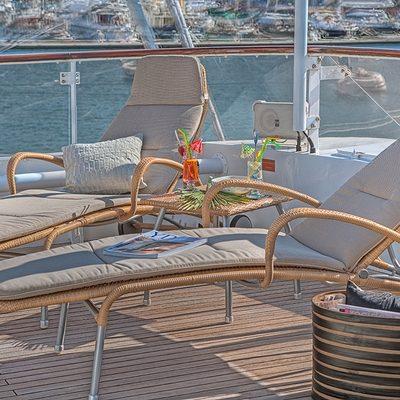 Sanssouci Star Aft Deck - Loungers