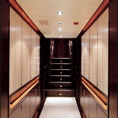Parsifal III Yacht Hallway