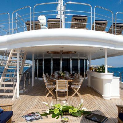 Lou Spirit Yacht Upper Deck