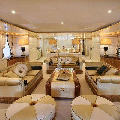 Platinum Yacht Main Salon - Forward