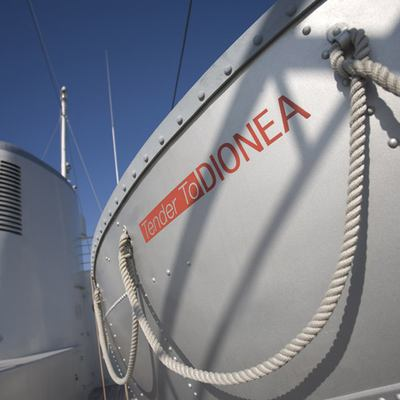 Dionea Yacht Tender - Side Detail