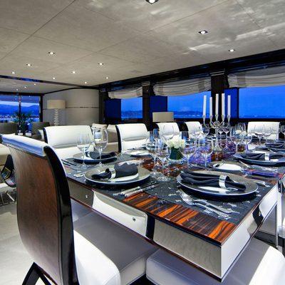 Manifiq Yacht Dining Salon