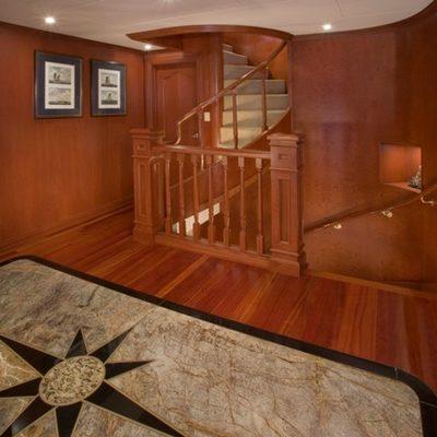 Stargazer Yacht Stairs