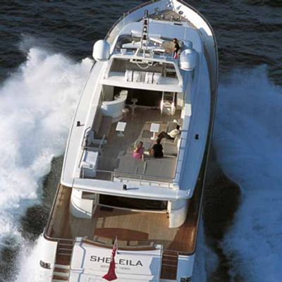 Sheleila Yacht View from top