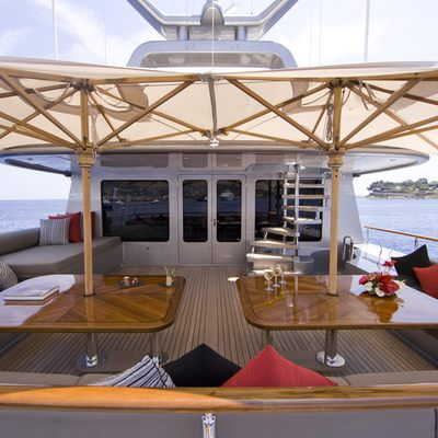 Silver Dream Yacht Sundeck - Seating